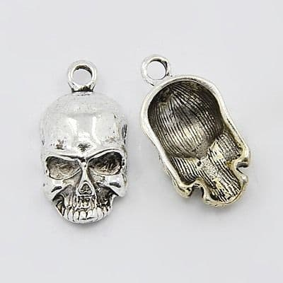 Dimensional Skull Charms (5)